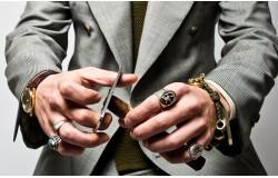 Модная мужская бижутерия современного мужчины