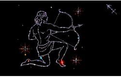 Мужские кулоны в виде созвездий знаков зодиака