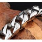 Стальной модный браслет на руку для мужчин