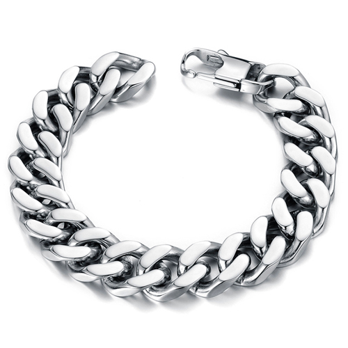 Классический браслет в виде цепочки