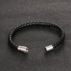 Минималистичный браслет для мужчин в виде жгута и магнитным замком