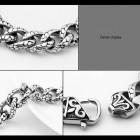 Браслет на руку в виде цепочки, изображающей чешую змеи