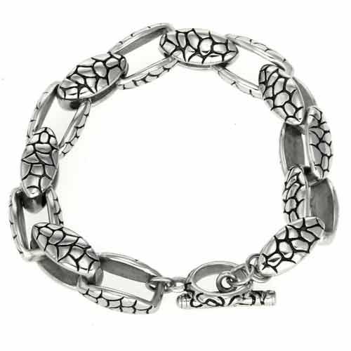 Браслет чешуя - стальная цепочка с нестандартным решением