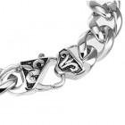 Стильный металлический браслет - цепочка на руку