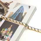 Элегантный браслет бизнес-стиля из карбида вольфрама