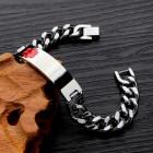 Стальной браслет для гравировки с эмблемой скорой помощи