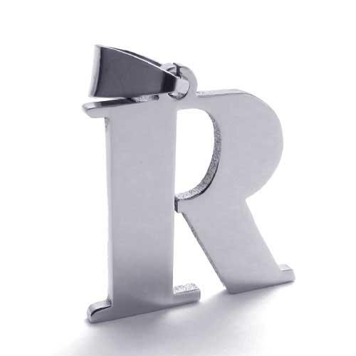 Кулон в виде заглавной буквы R