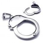 Кулон на шею в виде полицейского наручника