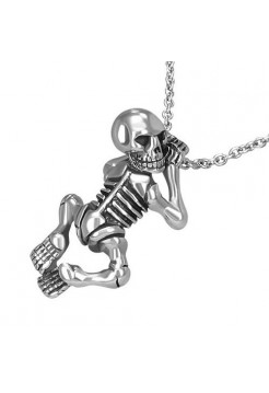 "Кулон ""Ползущий Скелет"""