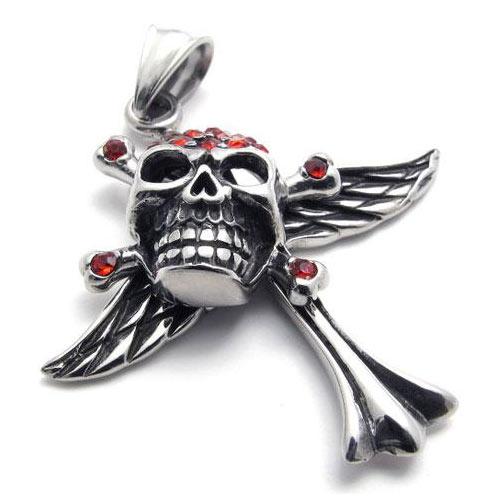 "Кулон ""Rhinestone Skull"""