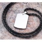 Кулон-медальон из вольфрама для гравировки
