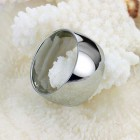 Широкое отполированное до блеска кольцо