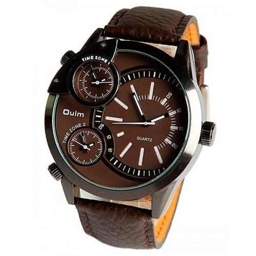 Популярные наручные часы в коричневом цвете. Элегантно и изысканно.