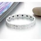Белый браслет керамический