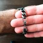 Классический браслет-цепочка из хирургической стали