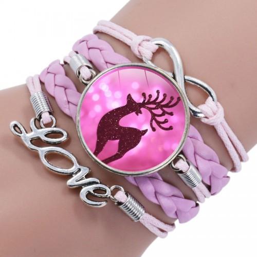 "Браслет ""Pink Deer"""