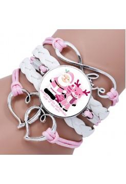 """Браслет """"Pink Santa"""""""
