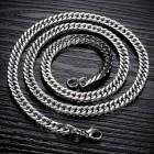 Мужская цепочка с двойным панцирным плетением на шею