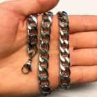 Классическая цепочка 12 мм длиной от 60 до 71 см