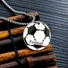 Кулон футбольный мяч football на шею