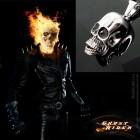 """Кулон из стали """"Ghost Rider"""" для мужчин из фильма Призрачный Гонщик"""