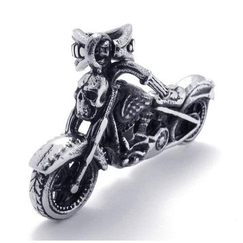 """Кулон для брутальных и сильных мужчин из стали """"Harley Davidson"""""""