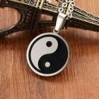 Кулон на шею в виде символа двух противоположностей - Инь и Янь