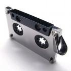 Мужской кулон в виде кассеты из магнитофона из стали 316L
