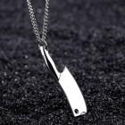 Кулон с цепочкой - разделочный нож мясника