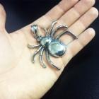 Кулон в виде большого паука
