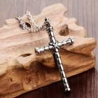 Стильный кулон в виде креста, связанного из двух бамбуковых палок