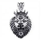"""Кулон король лев """"The Lion King"""" в виде головы льва с короной"""