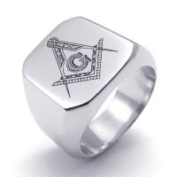 """Кольцо """"Steel Freemasonry"""""""