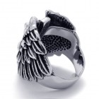 Стальное кольцо для мужчин в виде силуэта женского тела