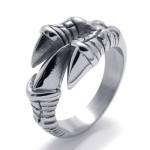 Мужские кольца из стали