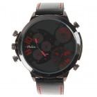 Оригинальные красные часы кварцевые наручные