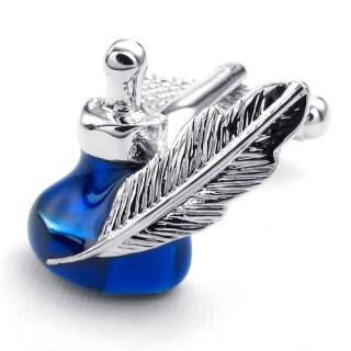 "Запонки ""Blue Ink"""