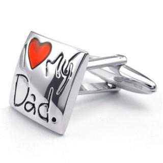 """Запонки """"I Love My Dad"""""""